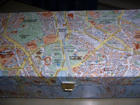 Decoupage With Maps - upcycled wooden box with map 183 how to make a decoupage box