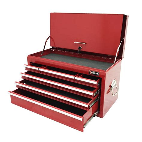 26 in 16 drawer glossy red roller cabinet combo excel steel roller cabinet black 26 8 in w x 17 1in d x