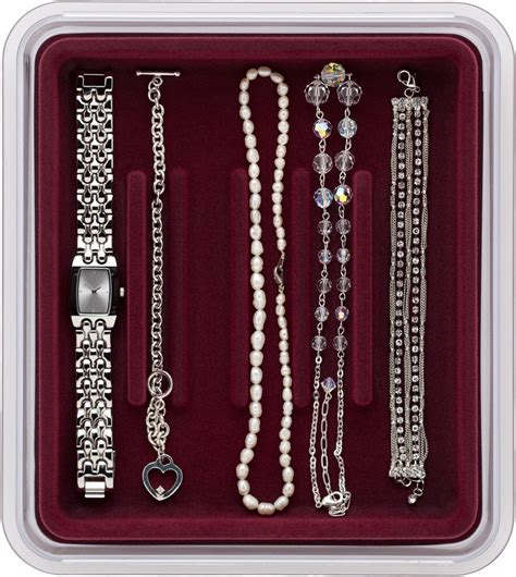 Velvet Jewelry Dividers For Drawers by Velvet Jewelry Tray Watches And Bracelets In Jewelry Trays