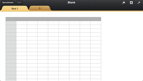 top blank data spreadsheet template wallpapers