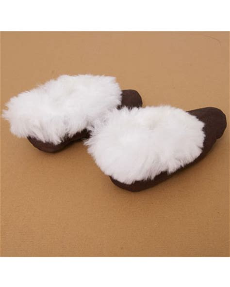 alpaca fur slippers luxury alpaca fur trimmed slippers nightwear