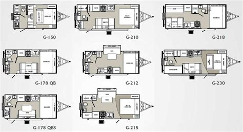 trail lite trailers floor plans palomino gazelle micro lite travel trailer floorplans