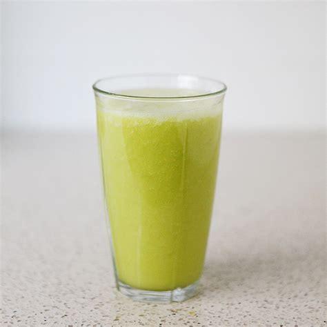 yellow smoothie juice paleo