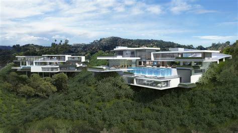modern mansion two modern mansions on sunset plaza drive in la by ameen