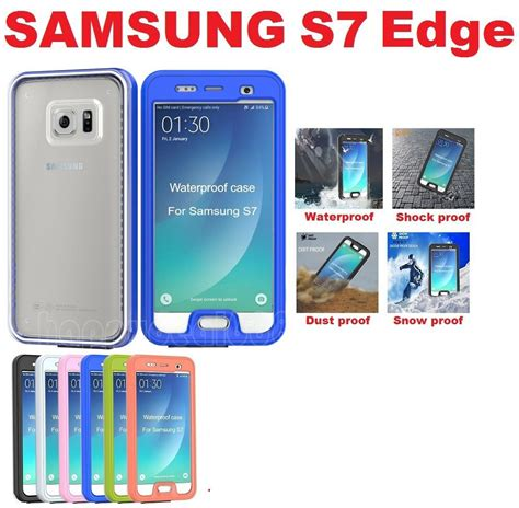for samsung galaxy s7 edge s7 waterproof shockproof dust proof cover ebay