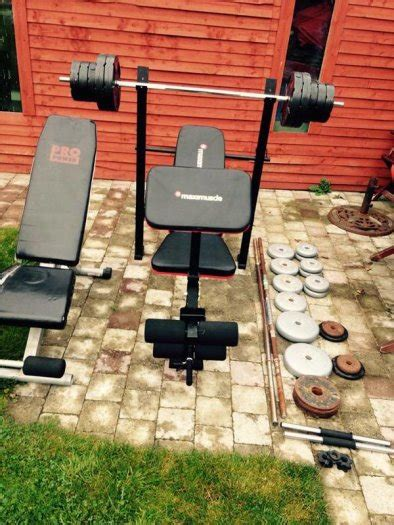 bench and weights package maximuscle bench and weight package other for sale in portlaoise laois from tomek renke