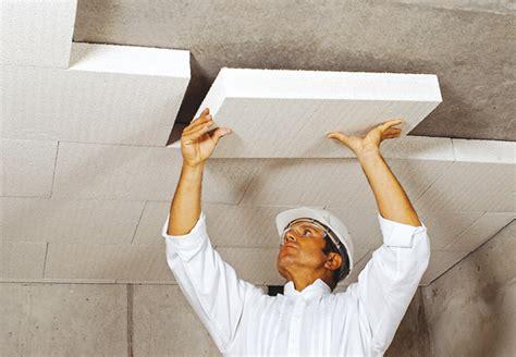 coibentare soffitto obi isolamento soffitto della cantina isolare