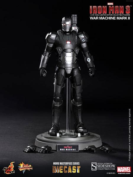 War Machine Die Cast toys iron 3 war machine ii diecast iron sixth scale figure mms198 d03 toyarena