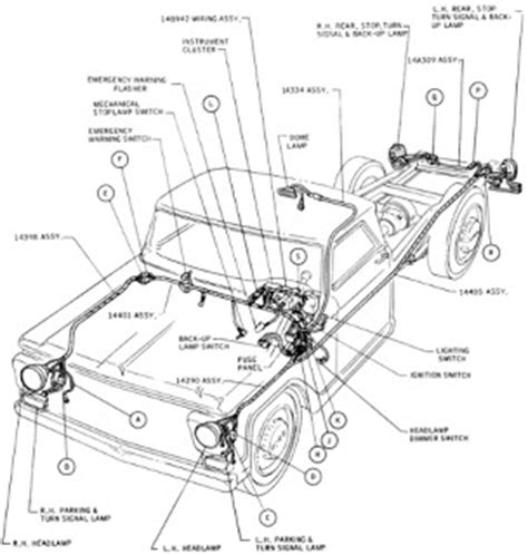 wiring diagrams ford truck f100 1967