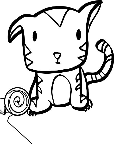 coloring pages of cute baby tigers very cute baby tiger coloring page wecoloringpage