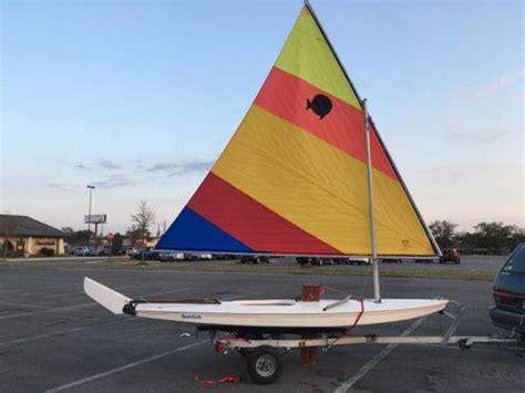 sailboats with two hulls 1996 alcort sunfish sailboat for sale in florida