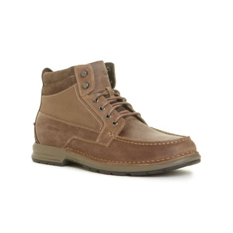 sebago boots sebago concord waterproof chukka boots in brown for