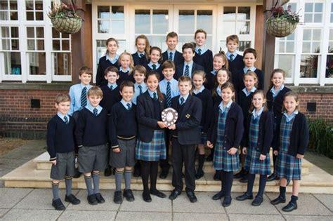Prep School Cranleigh Prep School Celebrate Swimming Trophy Hat Trick