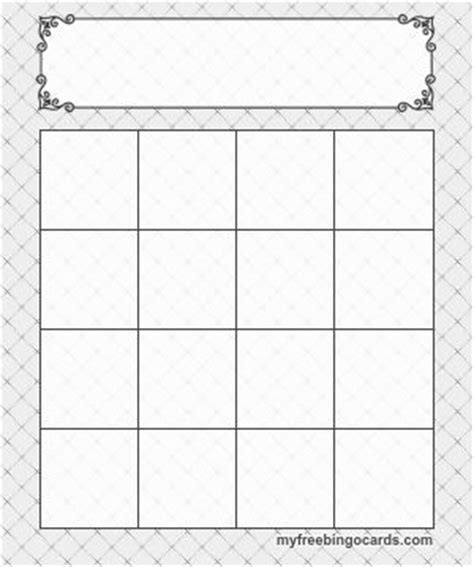 6 x 6 bingo card template editable 25 best ideas about bingo template on bingo