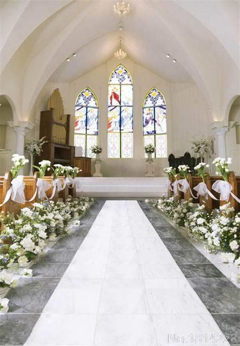 Wedding Background Church by 3x5ft Carnation Flowers Church Stage Color Window L