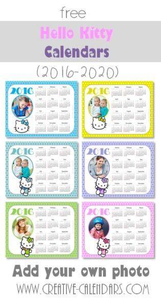 make your own yearly calendar with photos free 18 best hello calendars images on hello