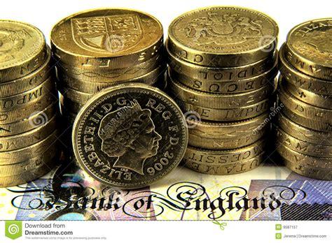 Rechnung Englisch Britisch Britische Pounds Lizenzfreie Stockfotografie Bild 9587157