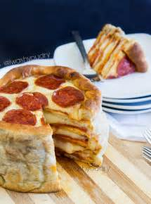 the pizza cake i wash you dry
