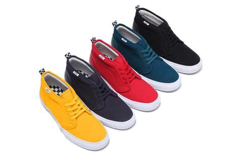 Sepatu Boots Gats Supreme X Vans Chukka Summer 2011 Sole Collector
