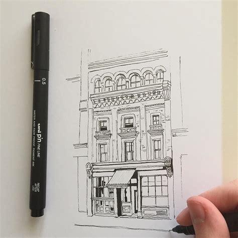 sketchbook and pen drawing pen sketch illustration linedrawing