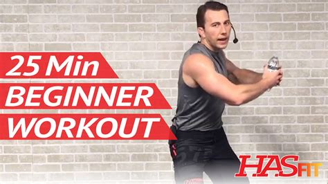 25 min beginner workout routine for at home
