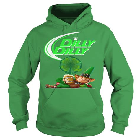 Hoodie Dilly Dilly 1 dilly dilly leprechaun st s day shamrock shirt hoodie sweater