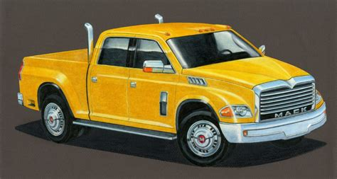 big rig style   semi truck makers built pickups  daily drive consumer guide