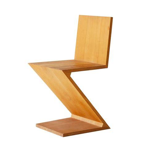 rietveld sedia sedia zig zag g t rietveld novecento designperte it