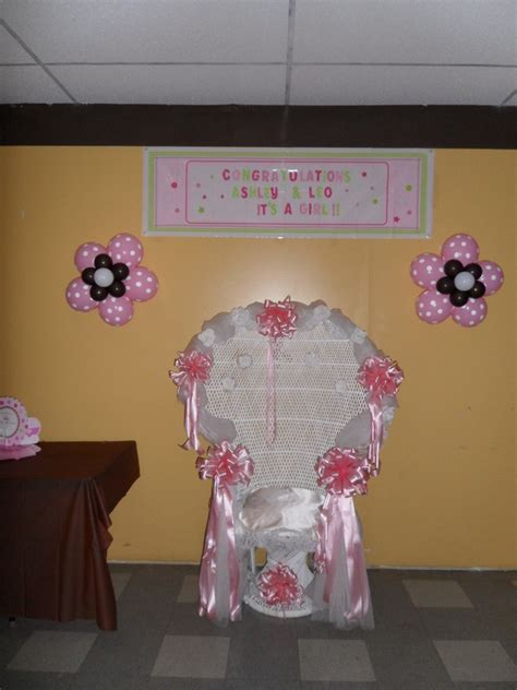 baby shower chair decorations thedivinechair