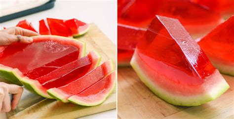 Cetakan Jelly Fruit by How To Make Watermelon Jell O Cooking Handimania