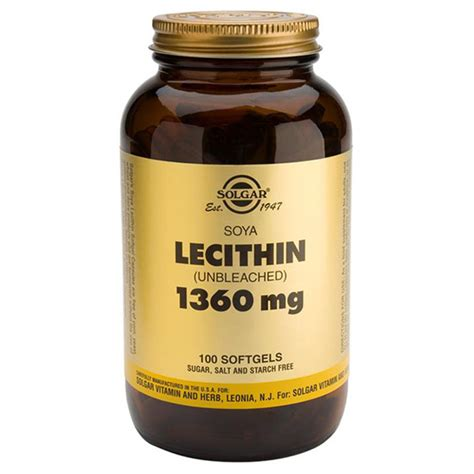 supplement lecithin lecithin 1360mg from solgar wwsm