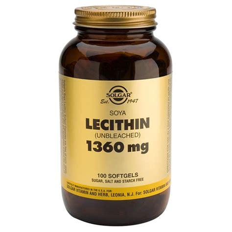Suplemen Lechitin lecithin 1360mg from solgar wwsm