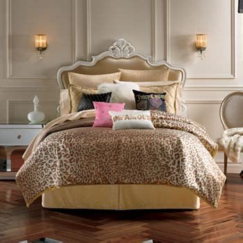 juicy couture home decor juicy couture animal instinct 3 pc comforter set full