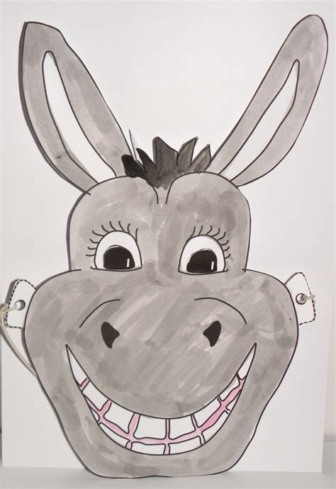 donkey mask craft n home
