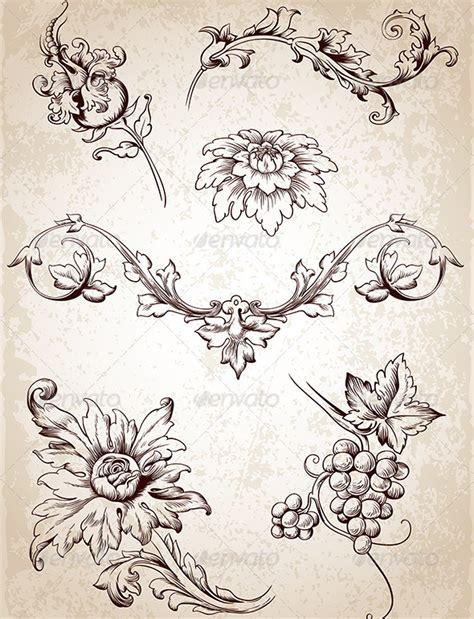 graphicriver tattoo maker graphicriver vintage design elements 4696592 filigree