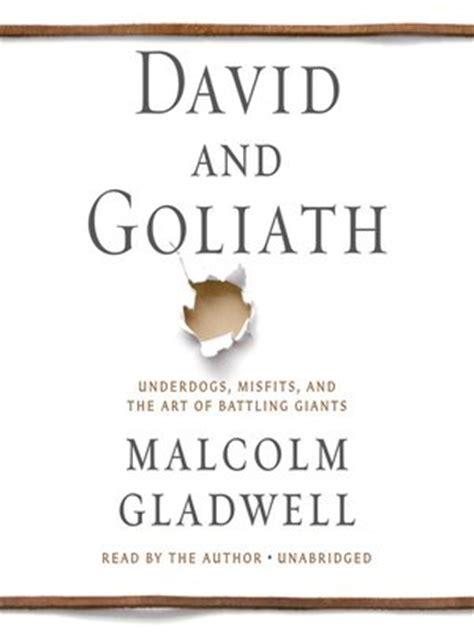 david and goliath underdogs david and goliath the ohio digital library