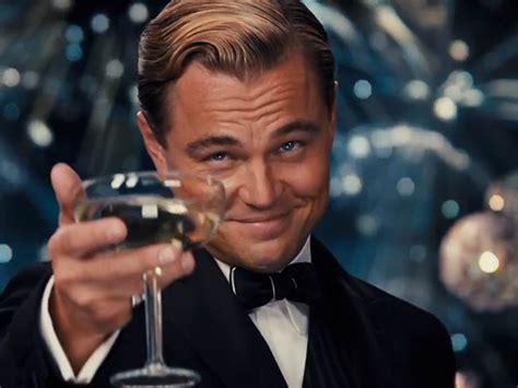 Di Caprio Meme - cheers let s toast leonardo dicaprio again and again and