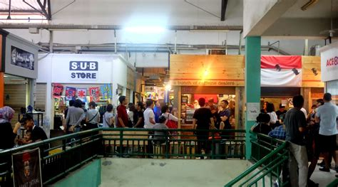 Rambut Sambung Pasar Baru fikri angga reksa tradisional dan modern di pasar santa
