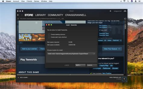 how to install steam games on mac games ojazink