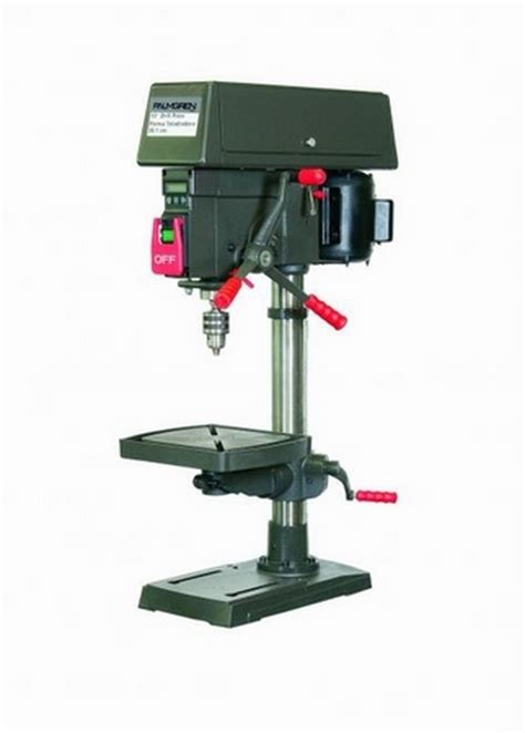 speed bench press palmgren 12 in 16 speed bench step pulley drill press