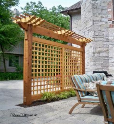 pergola screen ideas pergola with privacy wall images about screen in porchdeck on chsbahrain