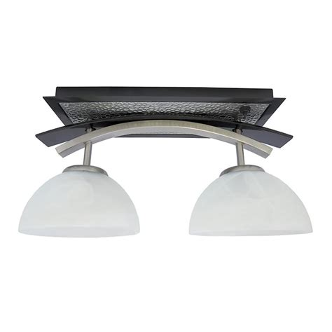 Dinette Lighting Fixtures Willow Two Bulb Dinette Light Black Nickel Combo Itc 3410f Swe73h000 D Light Fixtures