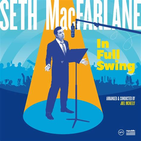 swing swing album seth macfarlane s new album in full swing out 9 15