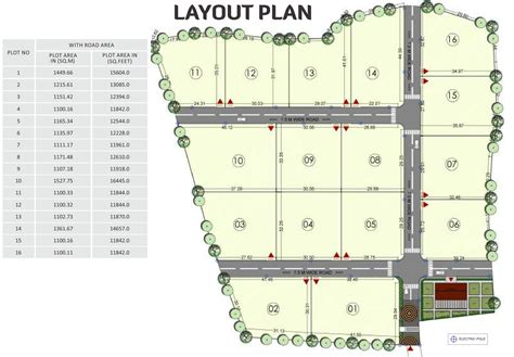 layout plot plan 12610 sq ft plot for sale in sairung rolling hills mulshi pune