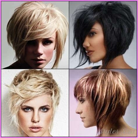 chunky layered hairstyles short chunky layered haircuts stylesstar com