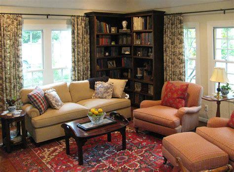 Living Room Corner Bookcase Marvelous Corner Bookcase Traditional Living Room