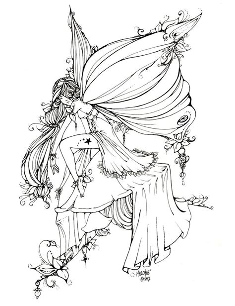 coloring books beautiful fairies 35 unique illustrations books on toadstool tattoos ideas