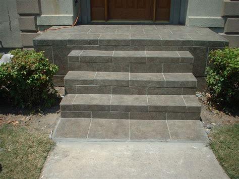 Porch Tiles Concrete slate tile front porch and steps future house enhancements entrance doors