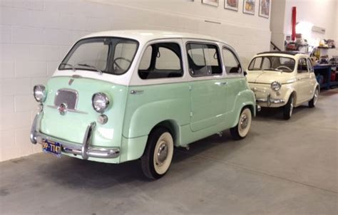fiat multipla for sale 1958 fiat 500 and 1960 fiat multipla for sale in lake
