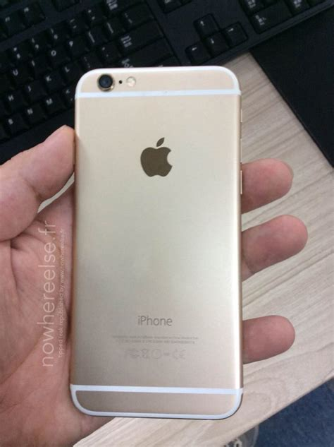 Chasing Iphone 6 Model Iphone 7 Gold alleged gold iphone 6 photos leak just ahead of apple event